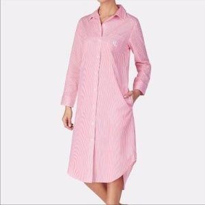 Lauren Ralph Lauren Button Down Pajama Shirt